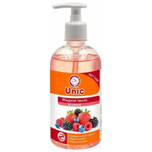 Мыло жидкое UNIC Ягодное, 500 мл