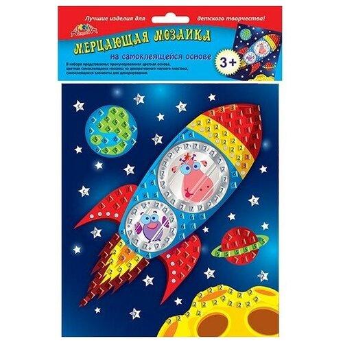 набор апплика мерцающая мозаика c1573 Апплика Мерцающая мозаика Космическое путешествие (С2420-18)