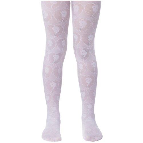 Фото - Колготки Conte Elegant DISNEY Frozen, размер 116-122, белый колготки conte elegant lucia размер 116 122 bianco