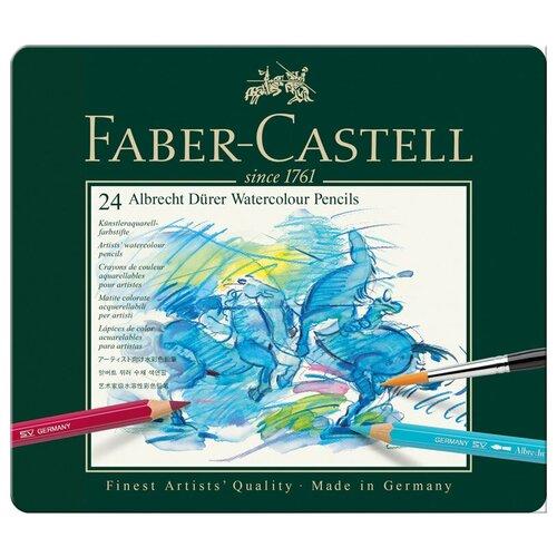 Faber-Castell Карандаши акварельные Albrecht Durer, 24 цвета (117524)