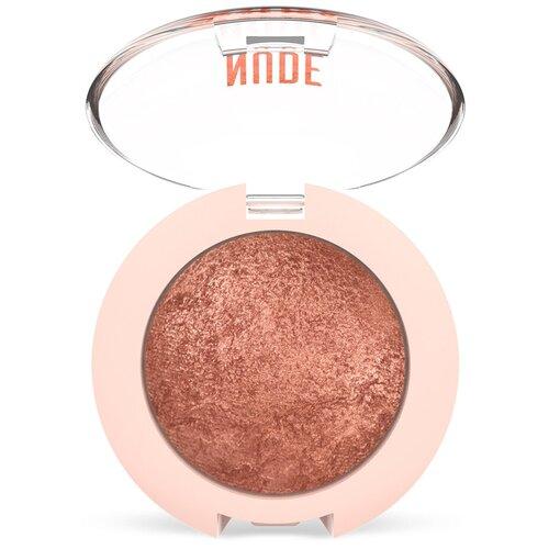 Golden Rose Тени для век Nude Look Baked Eyeshadow 02 Rosy Bronze