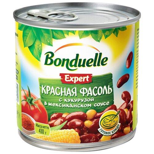 Фасоль Bonduelle Expert красная с кукурузой в мексиканском соусе, 430 г