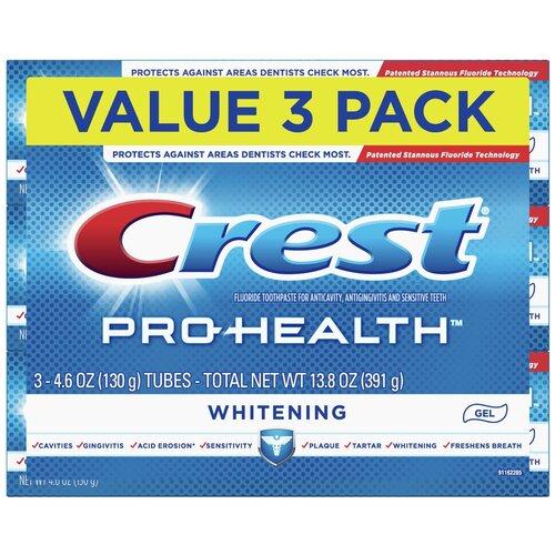 Crest Pro-Health Whitening – Набор из 3 зубных паст