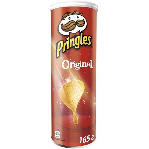 Чипсы Pringles картофельные Original, 165 г чипсы pringles картофельные spring onion 165 г