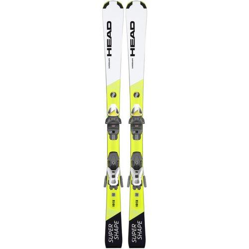 Горные лыжи детские с креплениями HEAD Supershape Jrs Pro 7.5 (21/22), 130 см