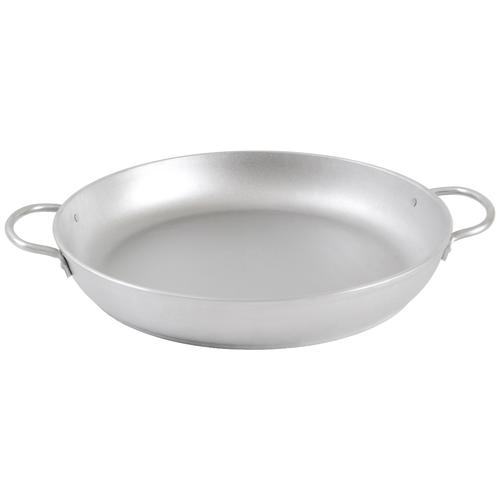 Сковорода Kukmara с341, 34 см, серебристый сковорода d 24 см kukmara кофейный мрамор смки240а