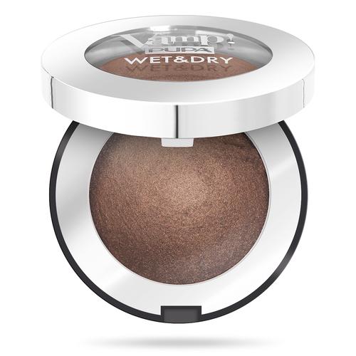 Pupa Тени для век Vamp! Wet&Dry 105 Warm Brown недорого