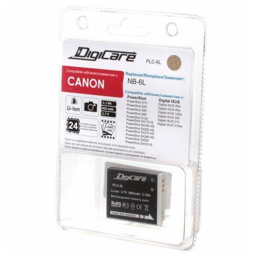 digicare plc 6l nb 6l Аккумулятор DigiCare PLC-6L / NB-6L / PowerShot SX270, SX280, SX500, SX260 HS, SX500, IXUS 310 HS