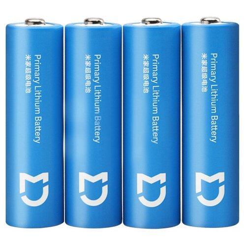 Фото - Батарейка AA - Xiaomi Mijia Super Lithium Battery Light Blue (4 штуки) сумка xiaomi runmi 90 light business travel bag gray