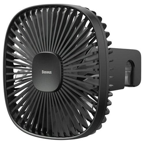 Автомобильный вентилятор на подголовник Baseus Natural Wind Magnetic Rear Seat Fan (CXZR-01) черный