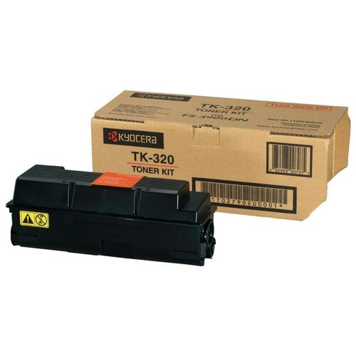 Фото - Картридж TK-320 Kyocera черный для FS-3900DN/4000DN (15 000 стр.) TK-320 картридж kyocera tk 5290c