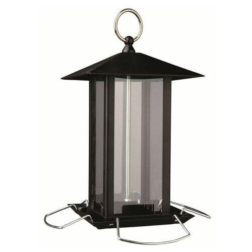 Кормушка для птиц 1,000 мл/19 х 20 х 19 см, черный, Trixie (товары для животных, 55621)
