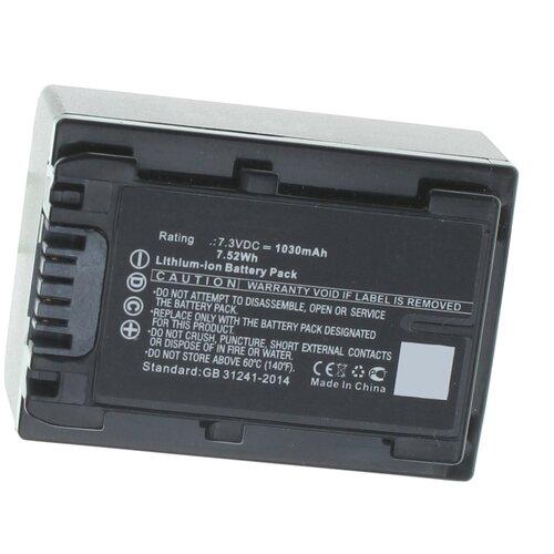 Фото - Аккумуляторная батарея iBatt 1030mAh для Sony NP-FV100A аккумуляторная батарея ibatt 850mah для pentax praktica samsung klic 7005 np 40n