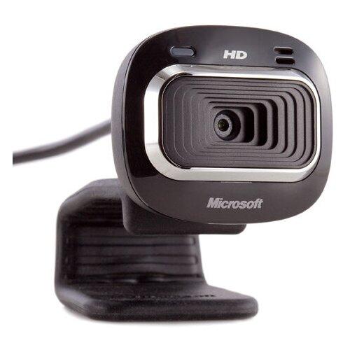 Веб камера Microsoft LifeCam HD-3000, USB 2.0, 1280*720, автофокус, Mic, Black