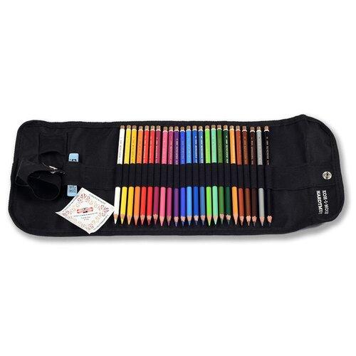 Карандаши цветные Koh-I-Noor Polycolor 3824 3824024003TP шестигранные 24цв. цветной корпус точилкаластикпенал