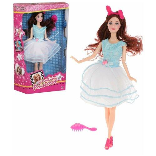 Кукла Наша Игрушка Модница, 30 см, 2 предмета, коробка (ZQ30325-17) кукла наша игрушка модница 28 см аксессуары арт yx 628b