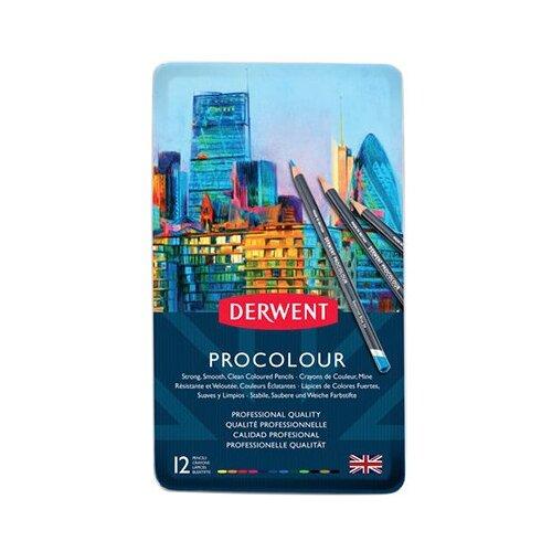 Купить Derwent Набор цветных карандашей Procolour 12 цв12 шт2302505 1 шт., Цветные карандаши