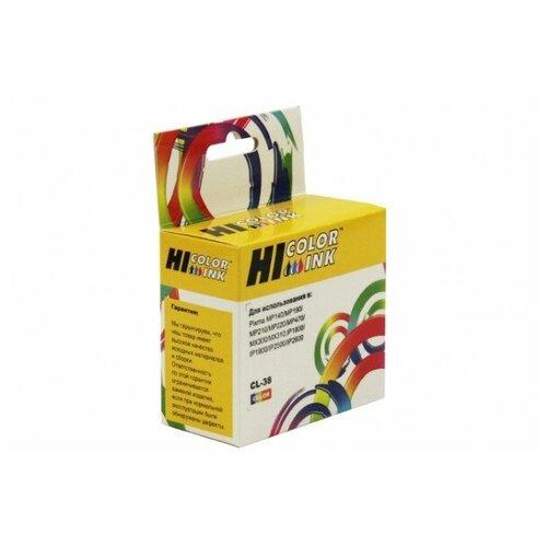 Картридж Hi-Black (HB-CL-38) для Canon PIXMA iP1800/2500/MP140/MX300, Color