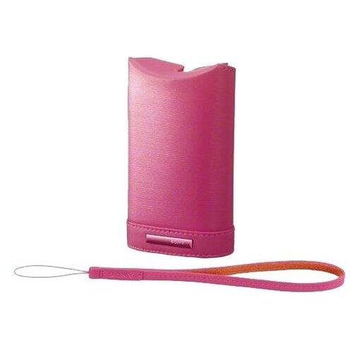Чехол для фотокамеры Sony LCS-WM Pink для аппаратов J/ S/ W/ WX Размер 11.80х4х7.20 см розовый (LCSWMP.SYH)