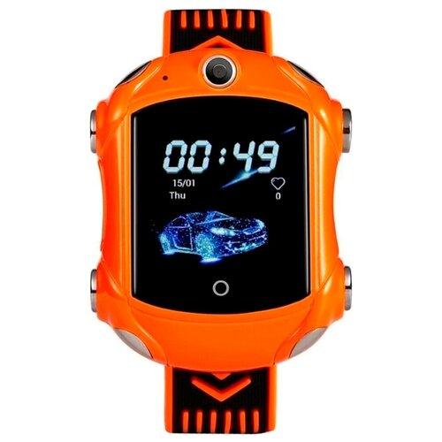 Детские умные часы Smart Baby Watch KT14 с видео-звонком 4G (Оранжевый) детские умные часы c gps smart baby watch kt14 оранжевый