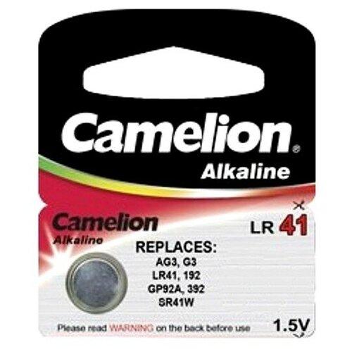 Фото - Батарейка Camelion G3/LR41 Plus Alkaline 1.5V AG3-BP10 (1 штука) батарейка gp alkaline 192 g3 lr41 алкалиновая 1 шт в блистере отрывной блок 192 2cy 4891199015533
