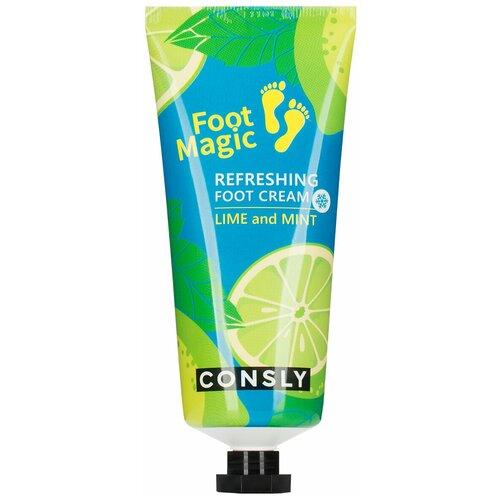 Освежающий крем для ног, 100мл, Consly