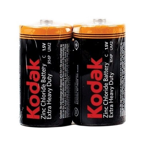 Фото - Батарейка KODAK R14 EXTRA HEAVY DUTY /KCHZ (24/144/1580) батарейка kodak r20 extra heavy duty kdhz 24 144 6912