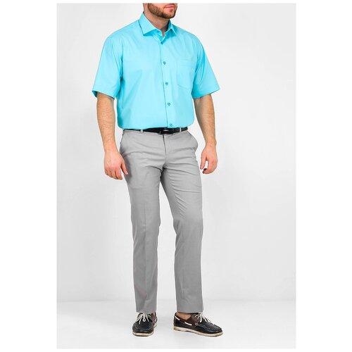 Рубашка GREG бирюзовый