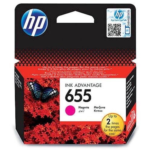 Фото - Картридж ориг. HP CZ111AE (№655) пурпурный для DeskJet IA 3525/4615/4625/5525/6525 (600стр) чернила hp 655 hp655 для hp deskjet 3525 5525 6525 4615 4625 набор 9 предметов инструкция совместимые