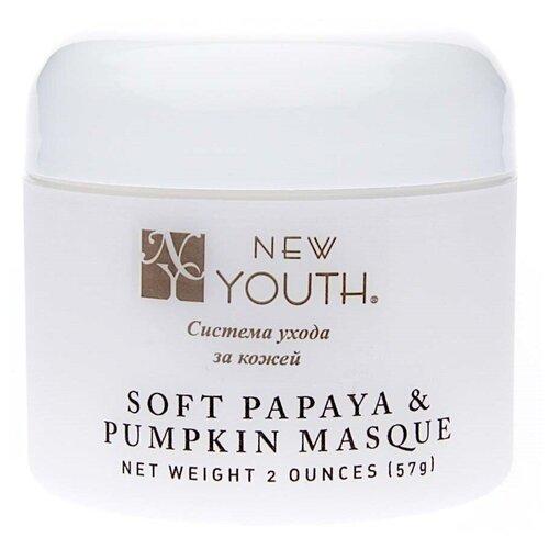 Маска смягчающая с экстрактом папайи и тыквы New Youth Masque Soft Papaya and Pumpkin