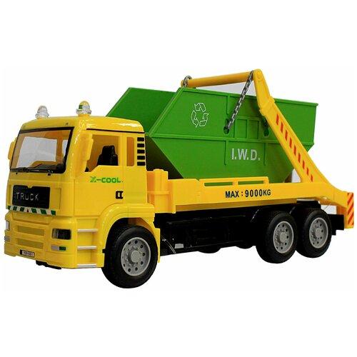 Zhorya Машина инерционная с контейнером Городская техника