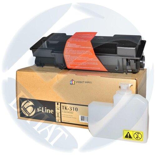 Фото - Картридж Bulat s-Line для Kyocera Mita FS-2000, 3900, 4000 (12000 стр.) TK-310 тонер картридж булат s line tk 5160c для kyocera ecosys p7040cdn голубой 12000 стр