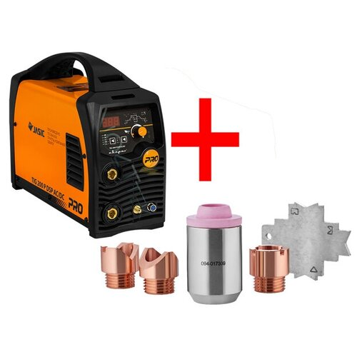 Сварочный аппарат PRO TIG 200 P DSP AC/DC (E201) + набор для SPOT сварки ICG0710