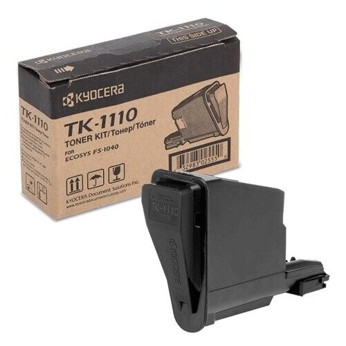Фото - Тонер-картридж KYOCERA (TK-1110) FS1040/1020/1120, оригинальный, ресурс 2500 стр., 1T02M50NX1 тонер картридж tk 1110