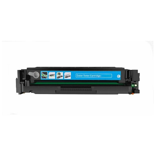 Картридж GalaPrint W2031A HP 415А (без чипа), Cyan (голубой), для лазерного принтера, совместимый