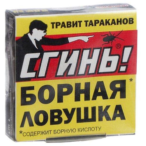 ловушка от тараканов дохлокс мгновенный яд 6 шт Ловушка от тараканов Дохлокс Сгинь №88, 1 шт