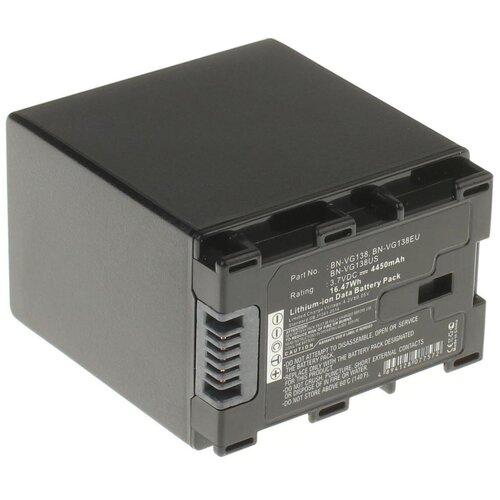 Аккумуляторная батарея iBatt 4450mAh для Jvc GZ-HM550BEU, GZ-HM430, GZ-E245, GZ-HM435, GZ-HD520, для JVC GZ-HM430SE, для Jvc GZ-HM445, для JVC GZ-HM845BE