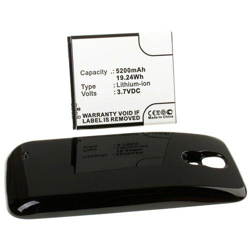 Аккумулятор iBatt iB-U1-M532 5200mAh для Samsung Galaxy S4, GT-I9500, Galaxy S4 LTE, GT-i9505, GT-i9502, GT-i9500 Galaxy S4 (S IV), аккумулятор rocknparts zip для samsung galaxy s4 gt i9500 337202