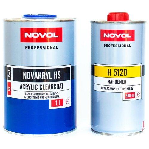 Лак NOVOL Novakryl HS, H 5120 стандартный 1000 мл 500 мл