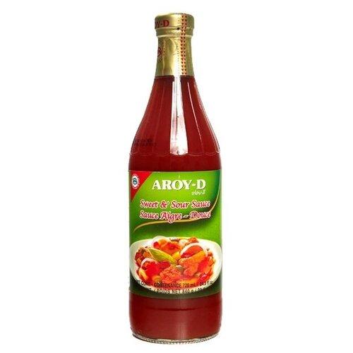 Соус кисло-сладкий AROY-D, 840 г сладкий соус чили для курицы aroy d 920 г