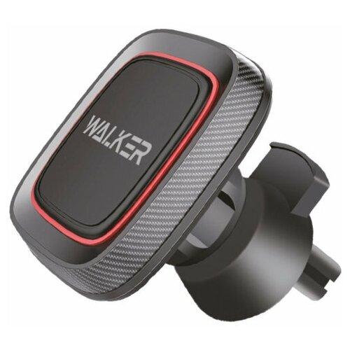 Держатель для телефона автомобильный WALKER CX-07 магнитный на приборную панель, черный / магнитный держатель на воздуховод / держатель телефона / авто товары / для авто / автомобиль / магнит