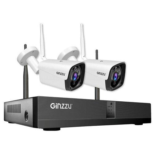 Комплект видеонаблюдения Ginzzu HK-4201W