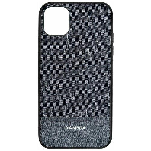 Фото - Чеxол (клип-кейс) Lyambda EUROPA для iPhone 12 Mini (LA05-1254-DB) Dark Blue чеxол клип кейс lyambda eris для iphone 12 mini la11 1254 gr green