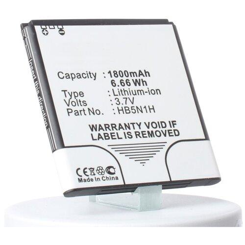 Аккумуляторная батарея iBatt 1800mAh для Huawei Unite Q, Ascend Y310, Ascend Y330-U01, Ascend Y310S, Ascend Y320-C00, Ascend Y320T, Ascend Y321c