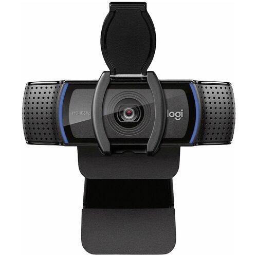 Вeб-камера Logitech Webcam C920e, черный