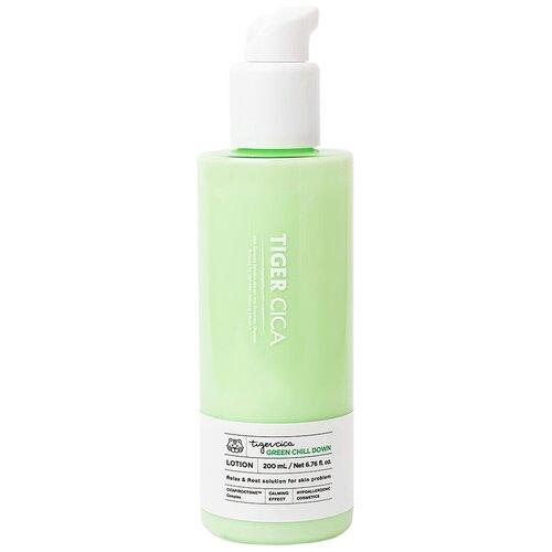 Купить It's Skin Успокаивающий лосьон для лица с экстрактом центеллы азиатской Tiger Cica Green Chill Down Lotion 200 мл
