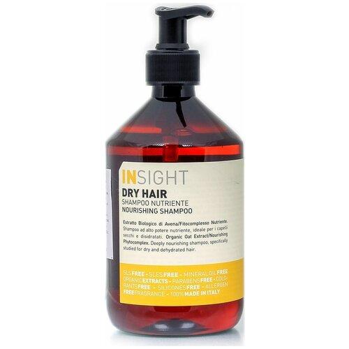 Insight Dry Hair Увлажняющий шампунь для сухих волос Insight, 400 мл insight серебристое кольцо never ever insight