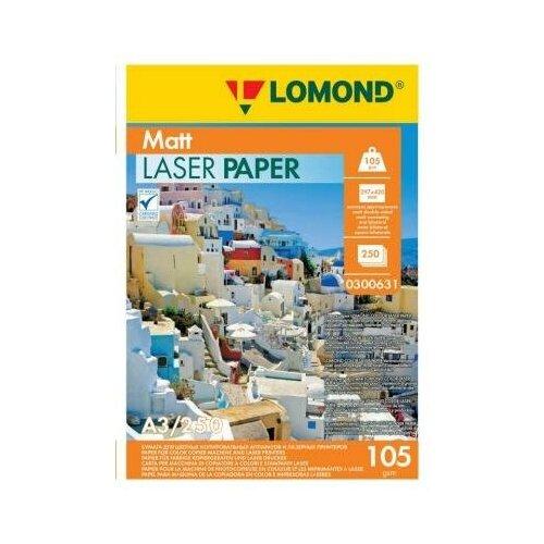 Фото - LOMOND Фотобумага LOMOND Двухсторонняя Матовая, для лазерной печати, 105 г/м2, А3/250л. lomond 2020345