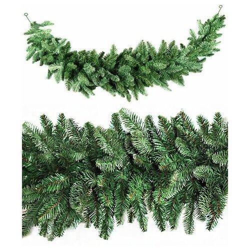 Сваг нормандия зеленый, хвоя литая PE+PVC, 180х36 см, Triumph Tree 73683