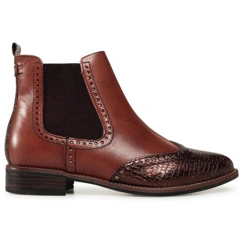 ботинки tamaris Ботинки челси Tamaris , размер 40 , коричневый